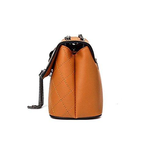 DcSpring Borsa a Tracolla Piccole in PU Pelle Borse a Spalla Sacchetto Elegante Fashion Cerniera per Donna Nero