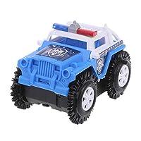 Descrizione:  100% nuovo e di alta qualità  Tipo di articolo: Electric Stunt Car Toys Materiale: ABS  Per età: oltre 3 anni  Batteria: 2 PC di batterie AA (non incluse)  Colore: Green Police Car, Blue Police Car, White Police Car, Giallo, Blu...