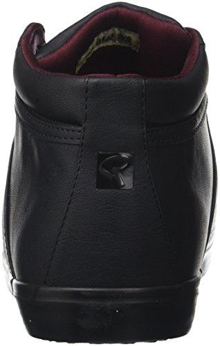 Redskins Herren Solami Hohe Sneaker Noir (noir+noir)