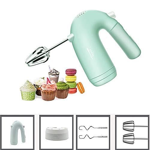 Unbekannt 5-Gang-Teig Handmischer Egg Mixer, Multifunktionsküchenmaschine Kitchen Mini Elektro-Hand Kochen Tools