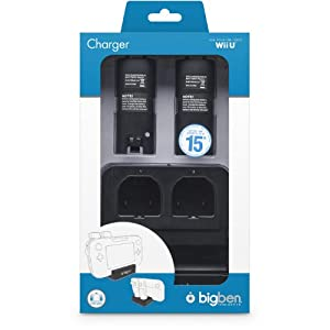 Wii U – 2+1 Charger Black (Ladestation)