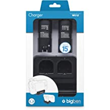 Wii U - 2+1 Charger Black (Ladestation)