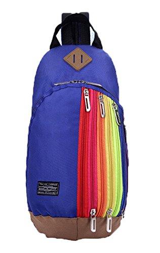 Baymate Unisex Sportiva Zaino Con Un Sacco Di Tasche Per Sport Outdoor Blu Scuro
