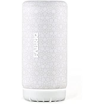 Portable Bluetooth and WiFi Smart Speaker with Voice Activated Amazon Alexa  by FABRIQ Chorus: Wireless Connectivity with Stereo Pairing for Multi-Room