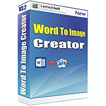 Lantech Soft Word to Image Converter - 1 PC, 1 Year (CD)
