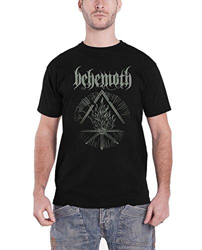 Behemoth - Top - Maniche corte  - Uomo nero XX-Large