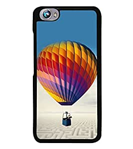 Hot Air Balloon 2D Hard Polycarbonate Designer Back Case Cover for Micromax Canvas Fire 4 A107
