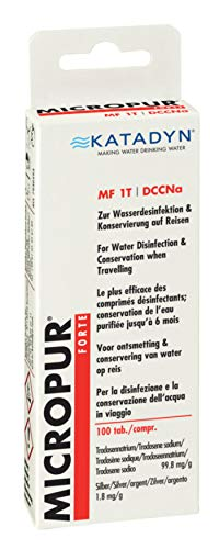 Micropur Forte MF 1T - 100 (4x25) Tabletten