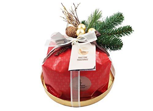 Confezione natalizia fai da te panettone artigianale fiasconaro idea regalo (tradizionale)