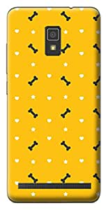 Mott2 Back Case for Lenovo A6600 | Lenovo A6600Back Cover | Lenovo A6600 Back Case - Printed Designer Hard Plastic Case - Tribal pattern theme