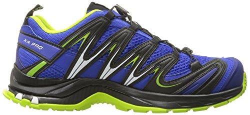 Saucony Xa Pro 3d, Scarpe da Trail Running Uomo Blu (Azul (Cobalt / Process Blue / Granny Green))