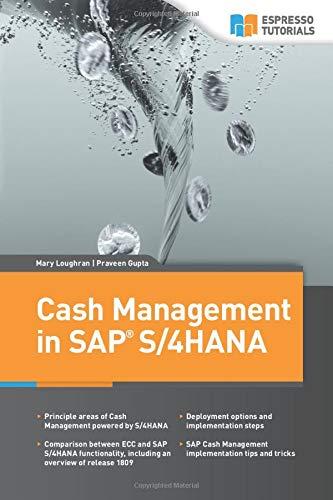Cash Management in SAP S/4HANA