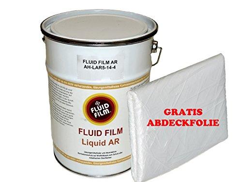 FLUID FILM Liquid AR Korrosionsschutz 5 Liter Kanister + gratis Abdeckplane -