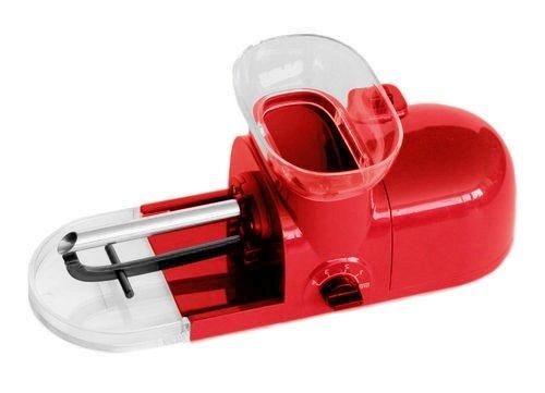 Tubeuse electrique machine à rouler rouge