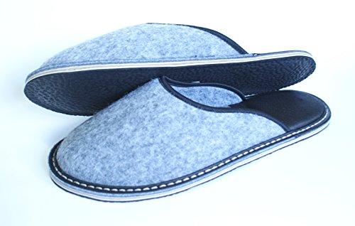 Revise Slippers - Chaussures - Chaussures Maison En Feutre Avec Semelle En Caoutchouc Ou Feutre - Semelle En Caoutchouc De Haute Qualité
