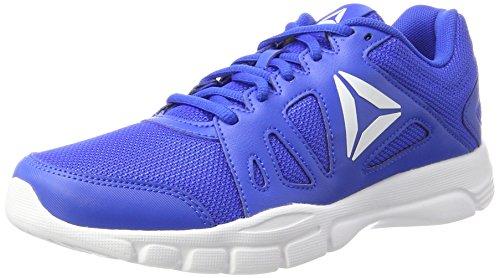 Reebok Trainfusion Nine 2.0, Zapatillas de Deporte para Hombre, Azul (Vital Blue/Ash Grey/White), 41 EU