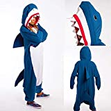 ROYAL WIND Shark Kigurumi - Adult Costume Shark Unisex Adult Pajamas
