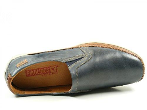 Pikolinos Blau Chaussures Azores Sortie Homme Mocassins 06h3087c1 PrgnqP