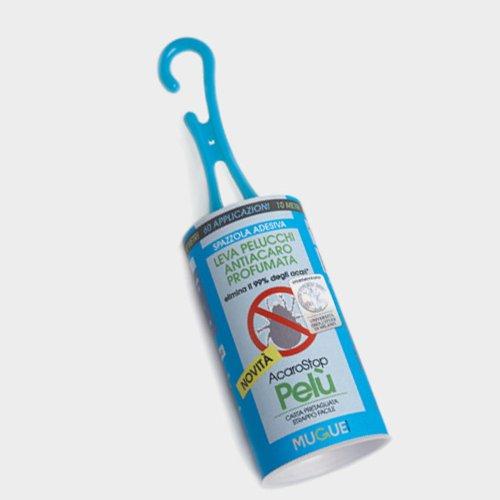 MUGUE - 28007.0 - Pelù Acaro Stop - Brosse Adhésive anti-peluches anti-acariens parfumée