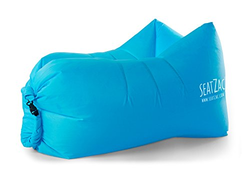 SeatZag 64705A - Luftsofa Chill Bag, Blau