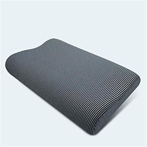 Pillow-top-king-size-matratze (KGGOPREAn Hotmemory Foam Bow Nackenkissen Fibre Slow Rebound Soft Pillow Cervical Care 7 50x30cm)