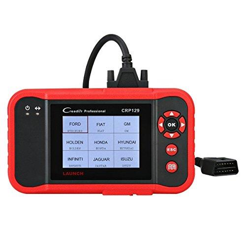 Auto-update Schalten Sie (Launch CRP129 OBD2 Diagnosegerät Code Reader OBDII Diagnosewerkzeuge, unterstützt ENG AT ABS SRS EPB SAS Öl Reset)