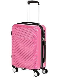 """AmazonBasics Geometric Luggage - 2 Piece Set (20"""", 28"""")"""