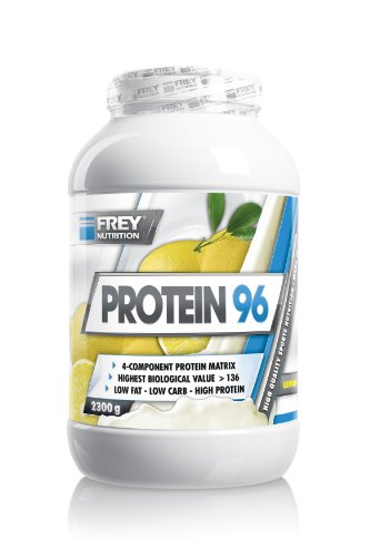 2g Protein (Frey Nutrition Protein 96 Lemon, 1er Pack (1 x 2 g))