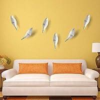 Homieco 2PCS Creative Birds Coat Hooks Wall Mounted Hanger Modern Decor Wall Decoration