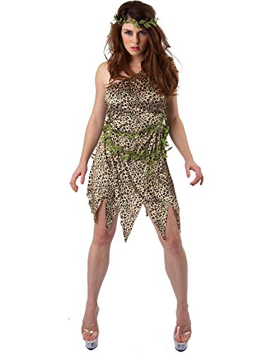 e im Dschungel Kostüm Karneval Verkleidung Extra Large (Jane Tarzan-kostüm)
