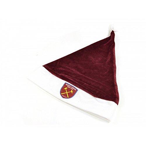 FC Weihnachtsmütze Santa Hut (Einheitsgröße) (Rotbraun/Weiß) ()