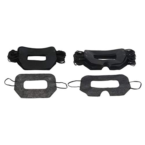 sharprepublic 100er Einweg Hygiene Augenmasken Auge Gesicht Maske Gesicht Abdeckung für Virtuellen Reality-Kopfhörer