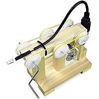 AEXU Dedicado Generador de Ayuda a la enseñanza Ciencia Puzzle Little Wrench Material de Bricolaje Generador de Mano Generado Experimental Modelo ensamblado Juguetes