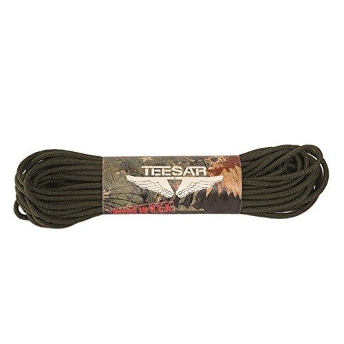Mil-Tec 15,2 m États-Unis Compact Paracorde Militaire Corde - Vert Olive