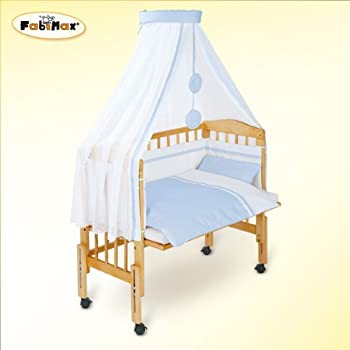 Kaltschaummatratze baby  FabiMax Emily Baby Max Pro Foldaway Cot with Mattress and ...