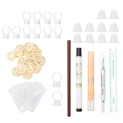 Kit di tatuaggi di Microblading, attrezzatura per la pratica di trucco per sopracciglia nebbia Soprattutto per aiutanti e principianti di tatuaggi professionali