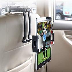 YONTEX Soporte de tablet para coche reglable en altura - Reposacabezas