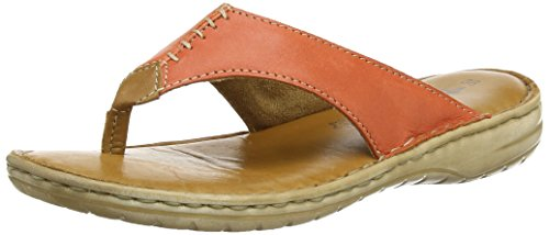Tamaris 27210 Damen Zehentrenner Orange (ORANGE/COGNAC (618))