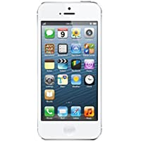 "Apple iPhone 5 - Smartphone libre iOS (pantalla 4"", cámara 8 MP, 16 GB, Dual-Core 1.3 GHz, 1 GB RAM), Blanco, Reacondicionado"