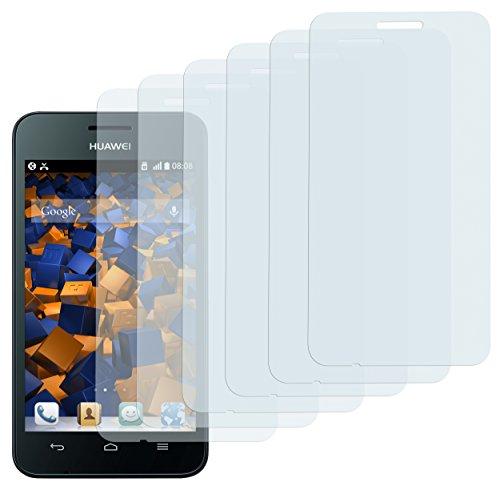 6x mumbi Schutzfolie für Huawei Ascend Y330 Folie Bildschirmschutzfolie