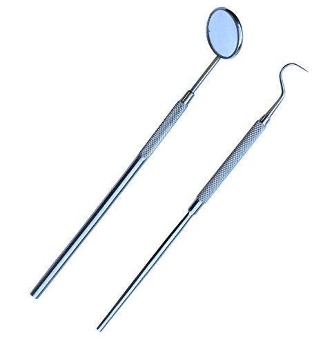 Zahnarztspiegel und Zeg Set 2PC- Awans &#x24C7