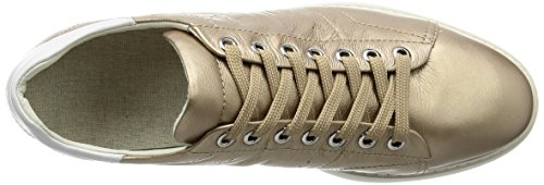 Geox D Thymar A, Sneakers Basses Femme Or (Champagnecb500)