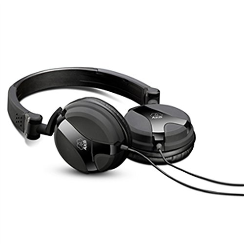 Dj Pieghevoli Premium con Controlli Volume e Microfono Apple iOS/iPhone Compatibili con Dispositivi Apple e Android, Nero[Cavo: 2.5m]