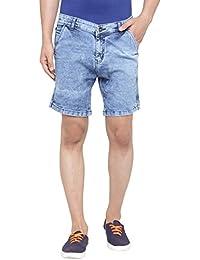 Ben Martin Men's Regular Fit Denim Jeans-BMW-DM-Shorts