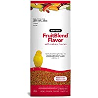 ZuPreem FruitBlend Flavor Pellets Bird Food for Very Small Birds | Powerful Pellets Made in USA, Naturally Flavored for Canaries, Finches 397g زوبريم كناري