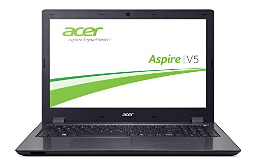 Acer Aspire V15 (V5-591G-50BA) 39,62 cm (15,6 Zoll Full HD) Laptop (Intel Core i5-6300HQ, 8GB RAM, 500GB SSHD, Win 10 Home) schwarz