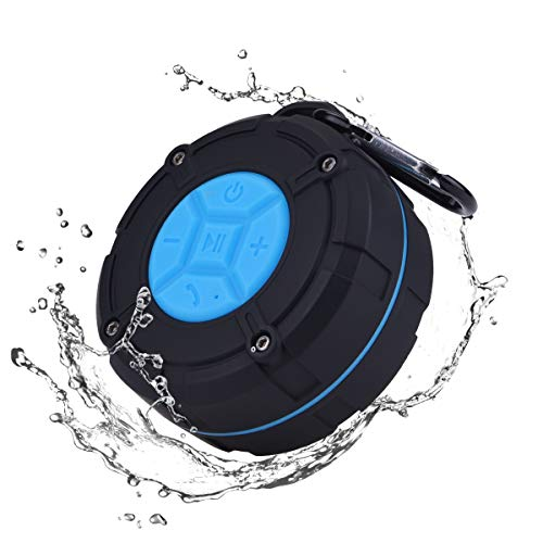 Qomolo Bluetooth Lautsprecher IPX7 Wasserdicht Bluetooth 4.2