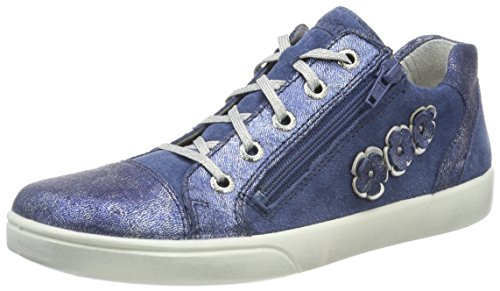 Superfit Mädchen Marley Sneaker, Blau (Water Kombi), 38 EU