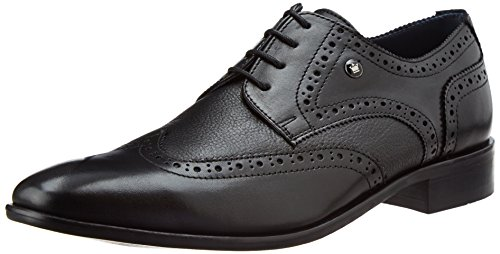 Louis Philippe Men's Derby Leather Formal Shoes
