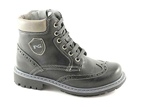 Nero Giardini Black Jardins Junior 33770 35/39 Gris Chaussures Bébé Bottes Zip